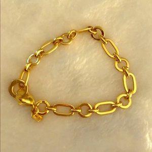 Authentic Origami Owl Gold Bracelet